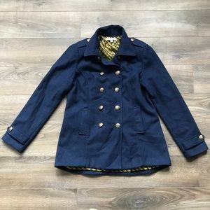 CAbi Prep School Wool Pea Coat Style #525